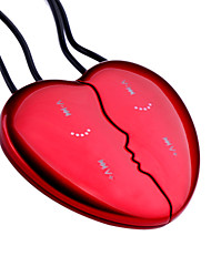 Lover's Couple Necklace MP3 Player (4GB, 2 Pieces)