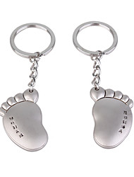Stainless Lovers keychains (Left Foot & Right Foot / 2-Piece Set)