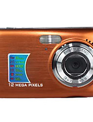 Face Detection 12 MP Digital Camera with 2.7 Inch LCD Display and 8×Digital Zoom