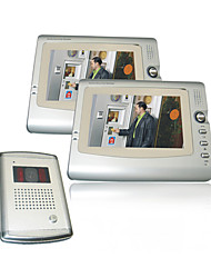 7 Inch Screen Visual Digital Video Doorphone With 2 Monitors(0785-VDP 311-203-311)