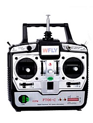 WFLY 2.4G 6-Channel Transmitter(FT06-C(2.4G))