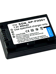 Replacement Camcorder Battery FH50 for SONY HDR-TG1E/TG5V/PM1/CM1/DSC-HX1(9370229)