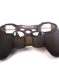 schützende Silikonhülle (schwarz) für ps3 controller