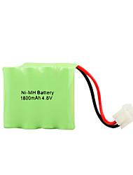 Ni-MH 4.8v 1800mah bateria recarregável (hb023)
