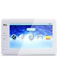 4,3 polegadas hd mp4 player multi-funcional (4gb, 720p, saída de TV)