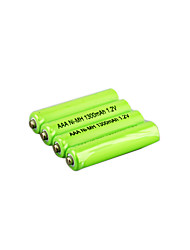 Ni-MH 1.2v 1300mAh bateria recarregável (hb036)