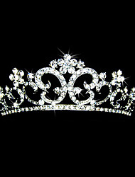 Gorgeous Alloy With Czech Rhinestones Bridal Tiara/ Headpiece