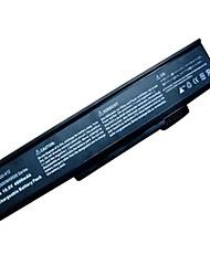 Bateria de 6 células para gateway 6000 6500 8500 M360 M460 m680 e-265m squ-413-412 squ 6msb ma MA3 Ma7 MA8 8msbg