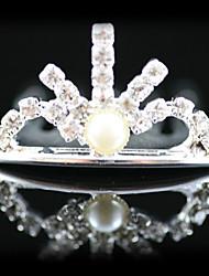 Flower Girl's Alloy/Imitation Pearl Headpiece - Wedding/Special Occasion Tiaras