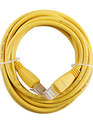 RJ-45 4 Pair Stranded Network Cable Yellow 3m