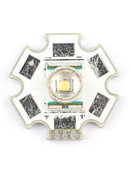 Cree XR-E Q5 LED bianco caldo base di 20 millimetri emettitore