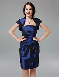 MAGAN - Vestido de Dama de honor de Tafetán con Bolero