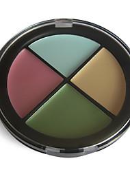 finitura naturale makeup palette concealer n ° 4 (4 colori)