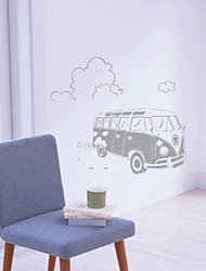 Bus Decorative Wall Sticker(0565-1105052)