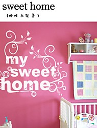 Sweet Home Decorative Wall Sticker(0565-1105032)