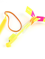 portato volare in elicottero ombrello jet gomma libellula (7 colori LED / 10 set)
