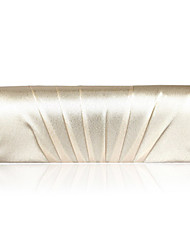 Women Satin Event/Party Evening Bag White Purple Gold Red Black