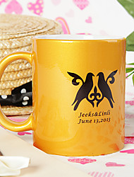 Personalized Gold Mug