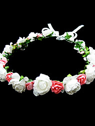 Women's Flower Girl's Paper Headpiece-Special Occasion Casual Flowers
