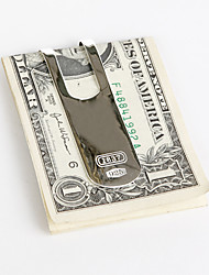 Gift Groomsman Silver Money Clip