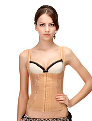 algodão não-destacável tiras frente busk corsets fechamento shapewear ocasião especial