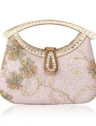 satén con strass bolsa de fiesta / brillo / garras / bolsas de alto manejar más colores disponibles