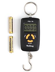 US-Dollar 9,95 – Tragbare, elektronische 1,5 LCD Digital-Waage mit doppelter Genauigkeit (45kg max.)