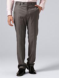 Gray Check Suit Pants