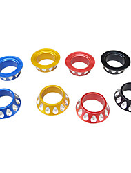 Fork/Headset Gasket with Colorful Waterdrop Design