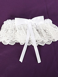 Garter Lace White