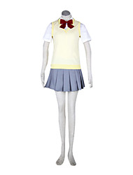 Karakura High School Autumn Girls' School Uniform VER.Cosplay Costume