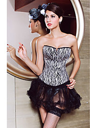 Acrylic Strapless Corsets Special Occasion Shapewear Sexy Lingerie Shaper