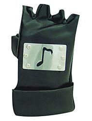 Handschuhe Inspiriert von Naruto Cosplay Anime Cosplay Accessoires Handschuhe Schwarz PU Leder Mann / Frau