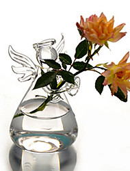 Table Centerpieces Glass Angel Vase  Table Deocrations