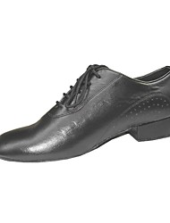 desempenho personalizar sapatos de dança de verdade parte superior de couro sapatos para homens modernos
