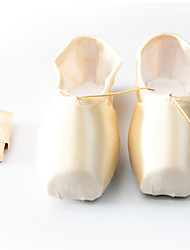 Customize Performance Dance Shoes Satin Upper High Box Ballet Pointe Shoes More Colors