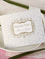 Thank You Card - Opulent Crest (Set of 50)