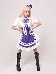 Cosplay Costume Inspired by Macross Frontier Sheryl Nome Gemini Dress