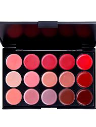15 palette de couleurs pour les lèvres délicatesse (yy092-1027)