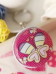 милые бабочки круглый мяты олово (набор из 6)