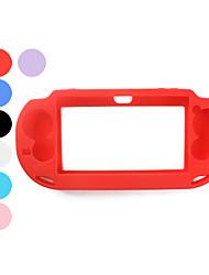 Housse en silicone pour PS Vita (couleurs assorties)