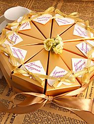flor de oro a favor caja (10 unidades)