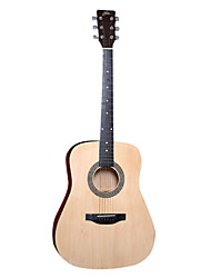 "Ella 41"" Beginner Linden Plywood Top Acoustic Guitar"