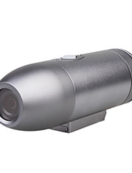 todos os metais impermeável Mini HD esportes câmera (720p, 5mp cmos)