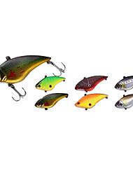 difícil shad difícil pesca do lure vib 70 milímetros 16.5g (6 peças embalado)
