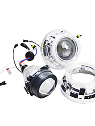 G235 Angel Eyes Xenon Headlights with Projector Lens, 2Pcs