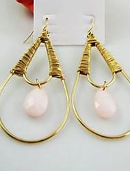 Wired Teardrop Earrings