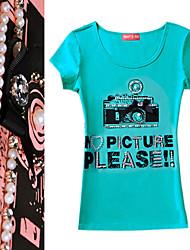 Beaded Camera Short Sleeve T-shirt