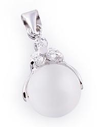 pingente de prata esterlina moda