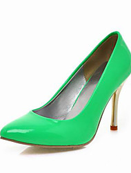 Leatherette Stiletto Closed Toe Pumps For Party/Evening/Office (More Colors)